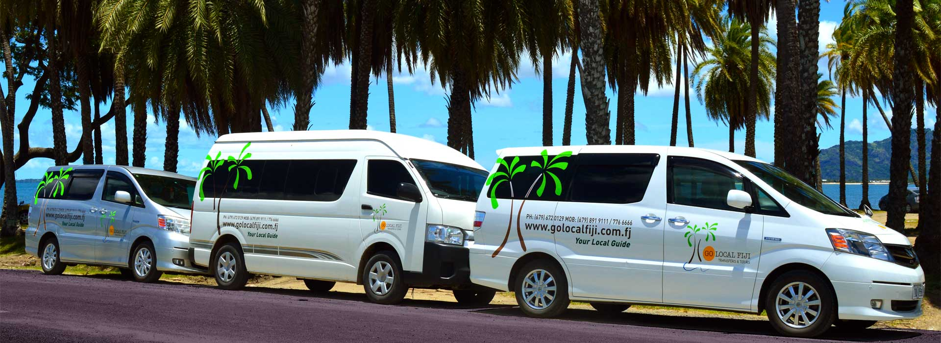 Our Fleet Go local Tours and Transfers
