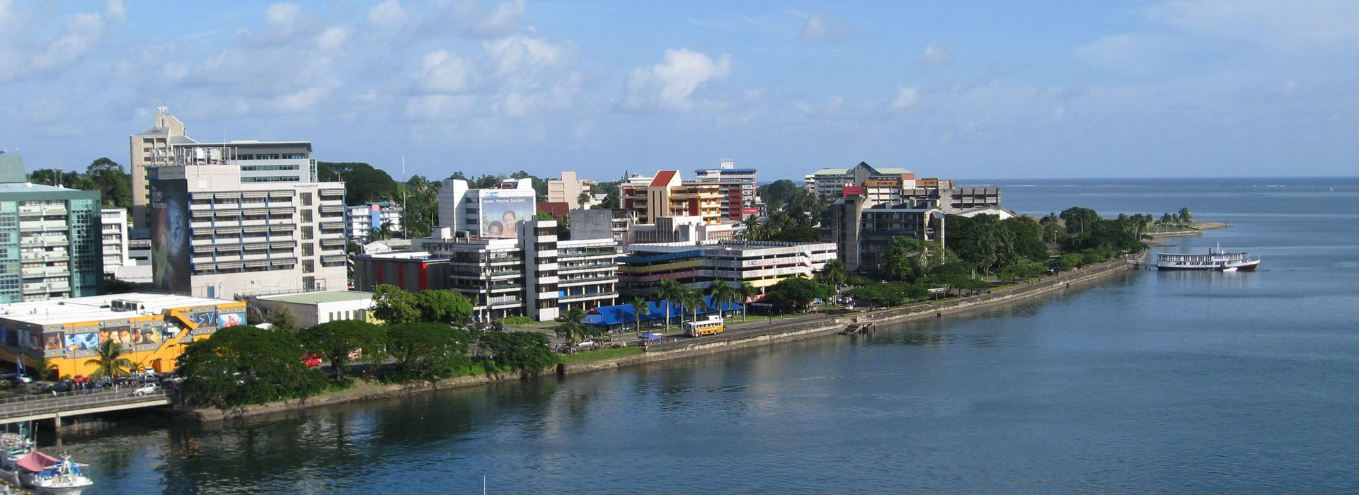 Sites and Sound of Suva City